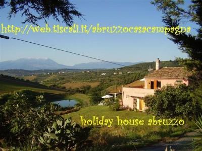 Apartamentos vacaciones Abruzzo casa campagna