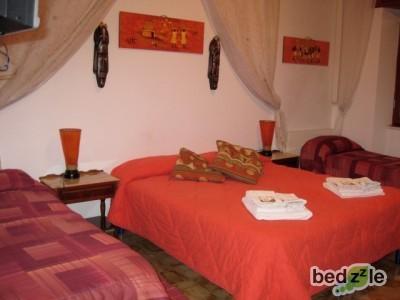 stanza etno-arancio