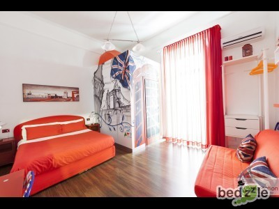 Camera  Matrimoniale con balcone e bagno privato